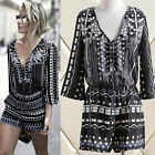 Women Ladies Clubwear Summer Playsuit Bodycon Party Jumpsuit Romper Trousers JYL
