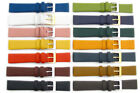 Fine Calf Leather Watch Band Strap Choice of Colours 16mm 18mm 20mm
