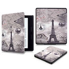Luxury Pattern Leather Flip Smart Cover Stand Case For Amazon New Kindle Oasis