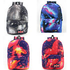 Student Hip-Hop Style Backpack Satchel Leisure Rucksack Travel Canvas Handbag