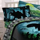 JURASSIC WORLD BED SHEET SET - Dinosaurs T Rex Raptors Pterodactyl Bedding