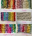 Wool Felt Balls - 100% Handmade Wool, Craft, jewelery, Garlands - 1cm or 2cm