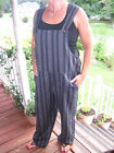Thin Stripes Dungaree, women, overalls, jumpsuit, 100% cotton, hademade