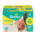 Pampers, Swaddlers Diapers, Newborn Size 1 2 3 4 5 6 - PICK ANY SIZ фото