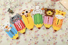6 Colors 3D Cartoon Cute Animal Pencil Soft Phone Shell for iPhone mobile Phone