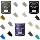 Rust-Oleum Chalk Furniture Paint Gloss Satin Matt Lacquer Metallic 125ml-750ml