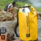 Wacces Heavy Duty Durable Waterproof Dry Bag for Rafting, Kayaking 30 Liters