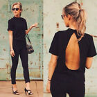 Summer T-Shirt Loose Top Short Sleeve Blouse Ladies Casual Fashion Women