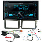 VW Golf Mk5 Mk6 Double Din CD MP3 USB iPhone & Android Direct Music Upgrade Kit