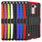 For LG Stylo 2 / LS775 / Stylus 2 Cases Tough Hybrid Armor Kickstand Phone Cover