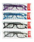 Reading Glasses, Unisex / Mens Ladies Trendy Designer 5 Colours 5 Strengths