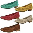 Ladies Clarks Flat Ballet Style Shoes Henderson Band