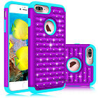 Shockproof Hybrid Bling Crystal Case Cover For iPhone 7 / 7 Plus / 8 / 8 Plus