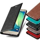 BOOK Style Cover CASE with invisible Magnet for SAMSUNG GALAXY Flip Wallet Card