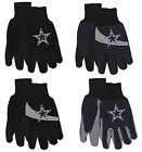 Brand New NFL Dallas Cowboys No Slip Grip Utility Work Gardening Gloves! on eBay