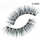 Soft 17 Style 100% Real Mink Long Natural Thick Makeup Eye Lashes False Eyelash