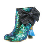 Irregular Choice Alice in Wonderland 2 Who in the World Am I Blue Boots Size