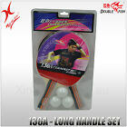 DOUBLE FISH TABLE TENNIS - 136A LONG HANDLE 2 BATS SET - 3 TABLE TENNIS BALL