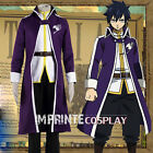 Fairy Tail Gray Fullbuster The Grand Magic Game Cosplay Costume Full Set
