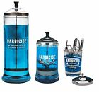 Barbicide Disinfectant Jars Large Medium Small For Hospitals Salons Barbers