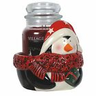Village Candle Large Jar Holder Various Festive Characters NEW