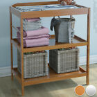 Baby Changing Unit Station Table Storage Nursery Room Furniture Choice of Colour