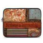 Zipper Sleeve Bag Cover - Be Inspired - Fits Most Laptops + MacBooks