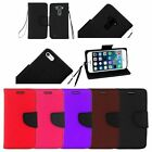 Premium PU Leather Flip Wallet Credit Card Cover Case For iPhone 6 6S Plus 5.5
