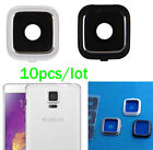 10 x Rear Camera Frame Holder + Glass Lens Cover For Samsung Galaxy Note 4 N910