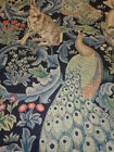 WILLIAM MORRIS CURTAIN FABRIC  FOREST 2.7 METRES DK2711