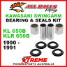 28-1120 Kawasaki KL650B (KLR650B) 1990-1991 Swingarm Bearing & Seal Kit MX