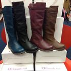 Heavenly Feet Saturn Tall Ladies Boots Sizes 3,4,5,6,7,8 New Wedge Flying Out