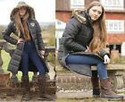Rhinegold Warm Padded Polar Long Horse Riding Coat Great for Winter Stable Duty