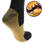 4 Pairs Copper-Infused Anti-Fatigue Compression Knee-High Health Socks Men Women