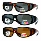 SA106 Polarized 55mm Fit Over OTG Oval Rectangular Sunglasses