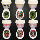 Halloween Toilet Seat Grabber Cover Scary Horror Party Decor Topper Sticker 2016