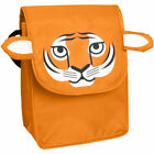 3D Animal Reusable Insulated Lunch Bag Picnic Snack Sack W/ Front Pocket