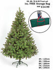 CHRISTMAS TREE DELUXE COLORADO GREEN ARTIFICIAL TREE 4ft 5ft 6ft 7ft 8ft