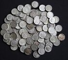 Two Rolls of Junk Roosevelt Dimes - 90% Silver -100 Coins -$10 Face