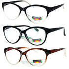 SA106 Cat Eye Multi 3 Focus Progressive Reading Glasses