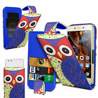For HTC One X+ - Printed Clip On PU Leather Flip Case Cover
