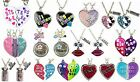 NWT Justice Girls Necklace Set Mother/Daughter & Big Sister/Lil' Sis NEW!