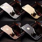 NEW Luxury Aluminum Ultra-thin Mirror Metal Case Cover for iPhone 5 6 7 7 8 Plus