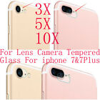 10/5* 9H Hardness Back Camera Lens Tempered Glass Protector For iphone 7 &7 Plus