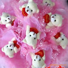 "Cute ""I LOVE YOU"" Heart Bears & Bunnies ~ Let Someone Know With a Bunny or Bear"