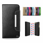 Premium Magnetic Flip Leather Wallet Card Case Cover For iPhone 7 Plus / 7