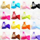 Wholesale 30/100 Pure Organza Voile Wedding Pouch Gifts Jewelry Storage Bags