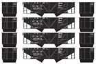Athearn 70238 HO N.Y.C. & ST L. 34' 2-Bay Hopper with Coal Load (4) #1