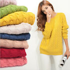 Women Long Sleeve Knitwear Jumper Cardigan Coat Casual Jacket Sweater Pullover