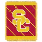 USC Trojans Southern Cal Baby Blanket Bedding Throw 36 x 46